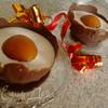 Глазунья в шоколаде