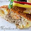 Камбала под сырным суфле по-французски