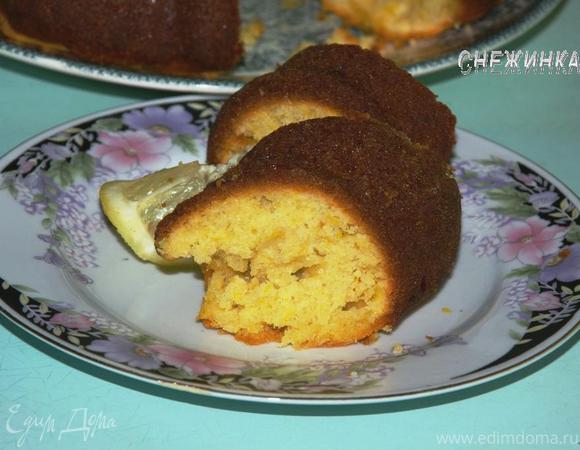 Тыквенный кекс с цитрусовой пропиткой