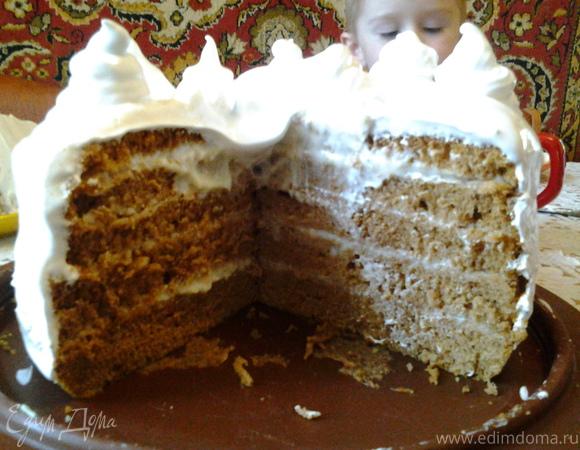 """Нежный торт """"Медовый"""""""