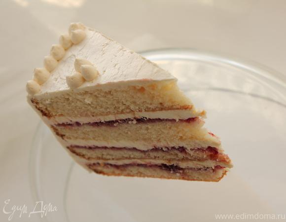 Швейцарский миндальный торт