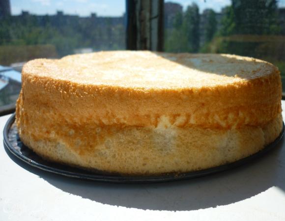 Ангельский бисквит (бисквит из яичных белков)