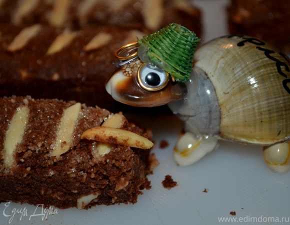 Мексиканское шоколадное песочное печенье