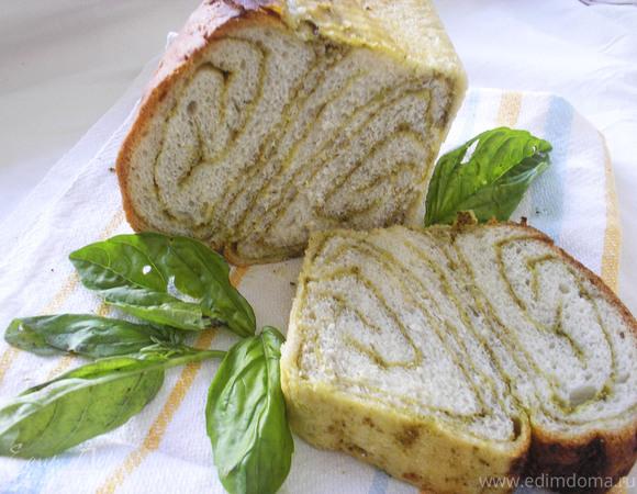 Хлеб с соусом песто + МК по формированию