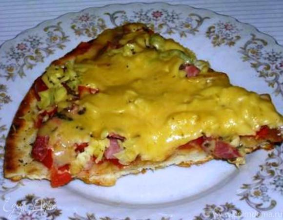 Пицца на сковороде без духовки рецепты с фото