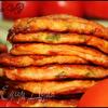 Помидорно-кабачковые оладушки