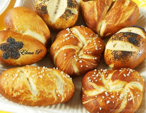 Немецкие булочки к завтраку.