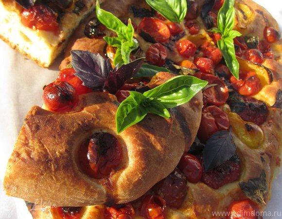 Фокачча с ароматными томатами