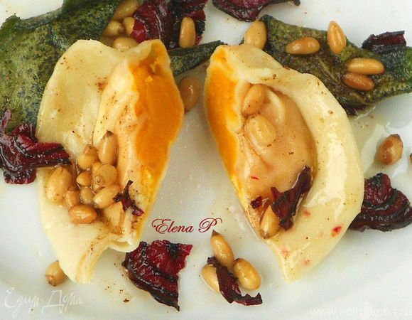 Тортеллини с тыквой и кедровыми орешками (готовим с «HomeQueen»)