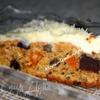 Морковный пирог с сухофруктами