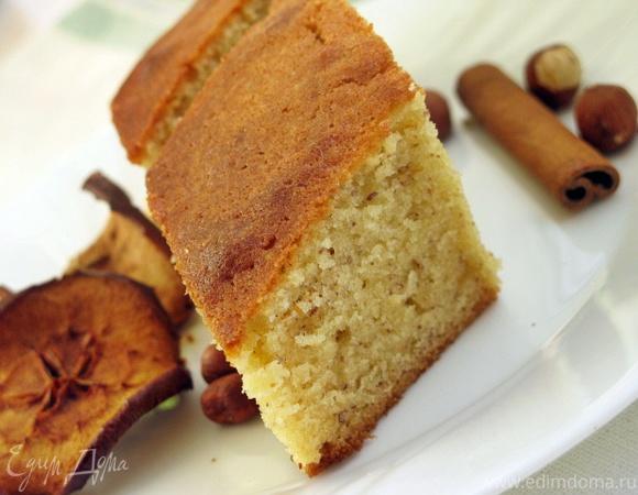 Карамельно-миндальный пирог