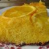 Перевернутый апельсиновый пирог