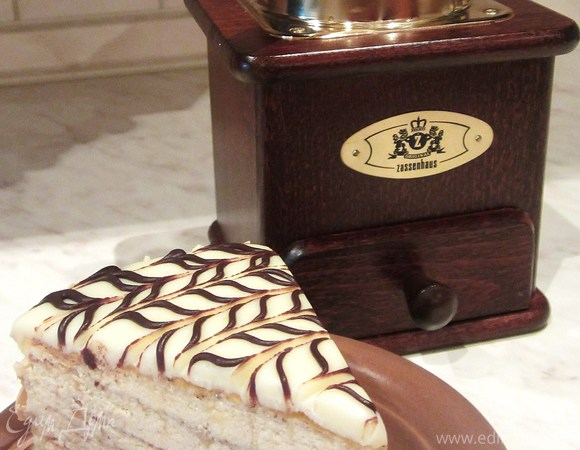 """Торт """"Эстерхази-2"""" с заварным кремом от Луки Монтерсино"""