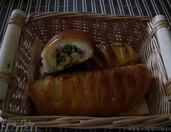 "Булочки ""парижанки"" (Cream de parisienne)"