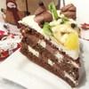 Детский тортик с фруктами без глютена и муки (Kinder torta)