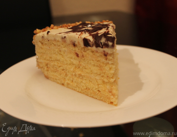 Апфельмусс-торт (Торт с яблочным кремом)