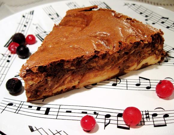 """Торт творожный """"Шоколадный джаз"""""""