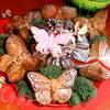 """Маково-цитрусовые кексы """"Бабочки прилетели"""""""