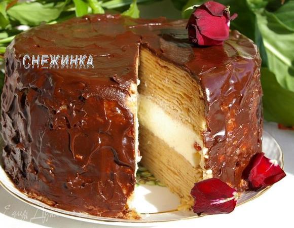 Торт с суфле «ПРОЩАЙ, МАСЛЕНИЦА»