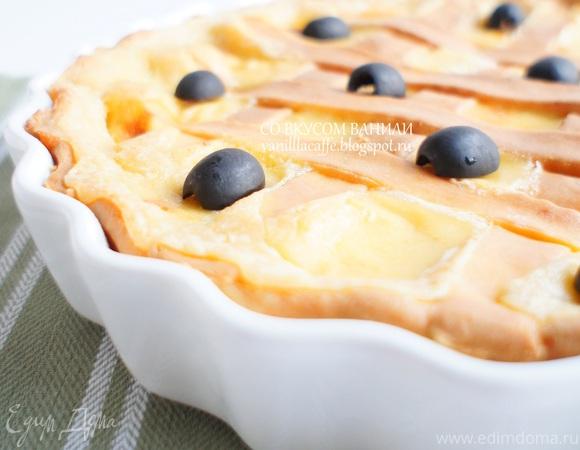 Итальянский сырный пирог (Crostata di formaggi)