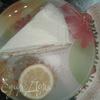 Простой бисквитный пирог с лимонным кремом