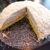 Легкий торт с мандаринами и маскарпоне
