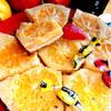 Цитрусовые пирожные