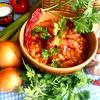 Быстрое рагу с колбасками и фасолью