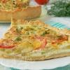 Киш с кабачками и сыром