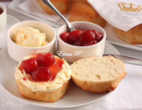 Топленые сливки по-английски (Clotted Cream)