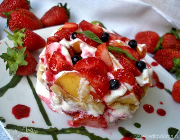 Фруктово-ягодный тартар