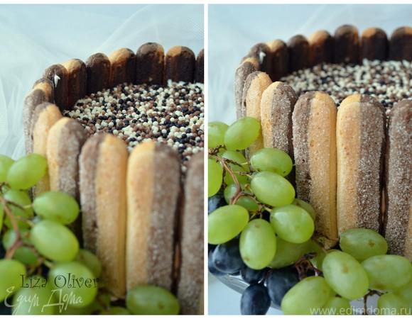 """Шоколадный торт из трех муссов """"Варенька"""""""