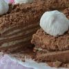 Шоколадный медовик с маминым фирменным кремом