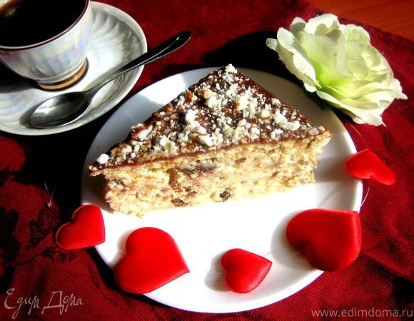 Торт без выпечки с творожным сыром
