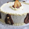 Грушевый торт с панна коттой