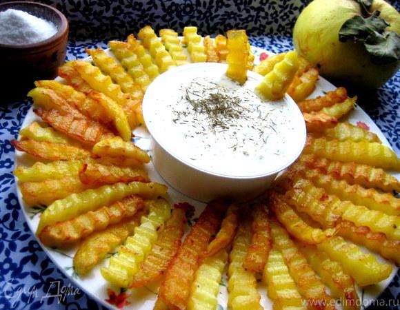 Сырный соус к картофелю фри