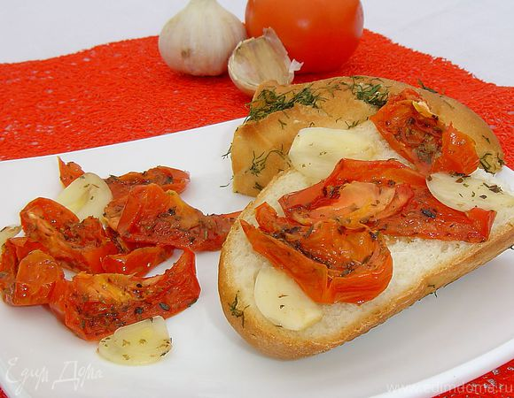 Вяленые помидоры за 30 минут