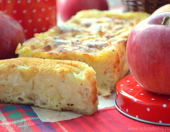 Яблочный кекс с крустильяном