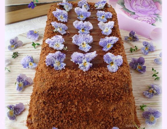 Торт шоколадный для моей подруги Лены