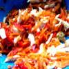 Салат с курицей и корейской морковкой