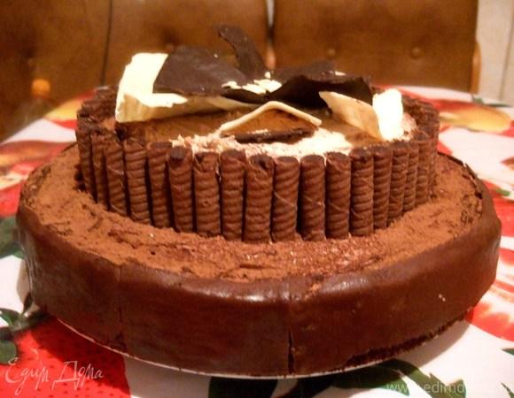 """Торт-пирожное """"Цветочек"""""""