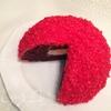 """Торт """"Красный снег"""""""