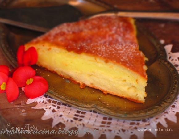 Вкусный пирог из творога с