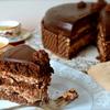 Шоколадный торт с вафельным кремом