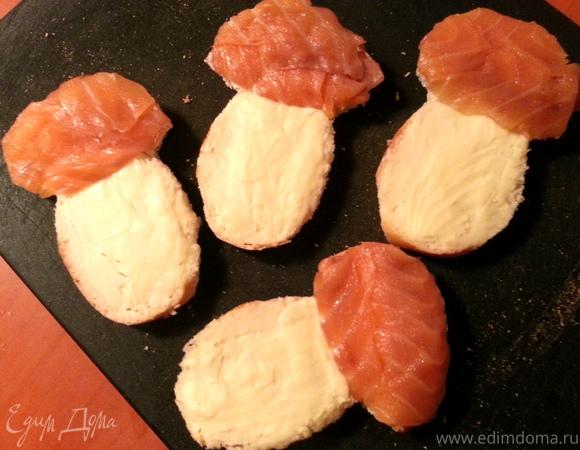 Просто бутерброды с рыбой