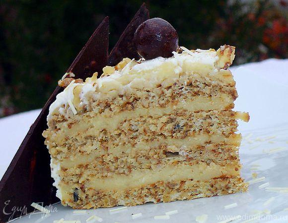 Рецепт орехового торта с фото
