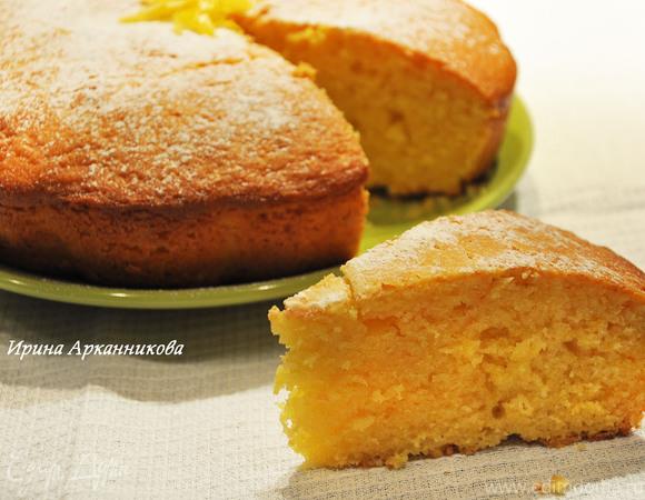 Сметанно-лимонный кекс