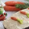 Морковный кекс с коричной глазурью