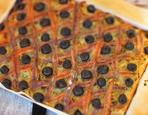 Фокачча Писсаладьер (Pissaladière)