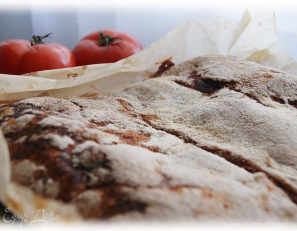 Итальянский пирог с томатами и сыром